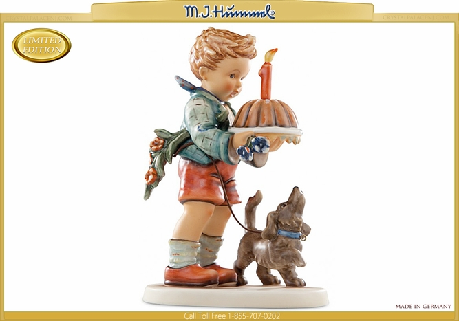 M.I. Hummel Begging His Share Figurine