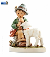Flute Song Figurine Club Year 34 Exclusive