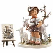 M.I.Hummel Little Goat Herder Figurine Masterpiece Edition