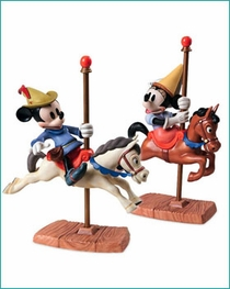 (SOLD OUT) Mickey and Minnie Mouse Carousel Sweethearts