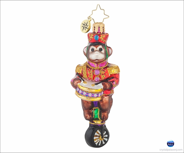 (SOLD OUT) Monkeying Around Gem Radko Ornament