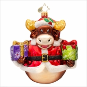 (SOLD OUT) Murphy the Moose Radko Ornament