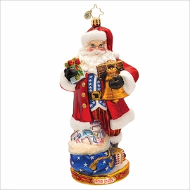 (SOLD OUT) National Treasure Nick Radko  Christmas Ornament