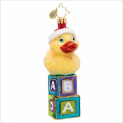New Duck on the Block Radko Ornament