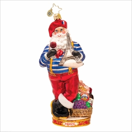 (SOLD OUT) Oh La La Radko  Christmas Ornament