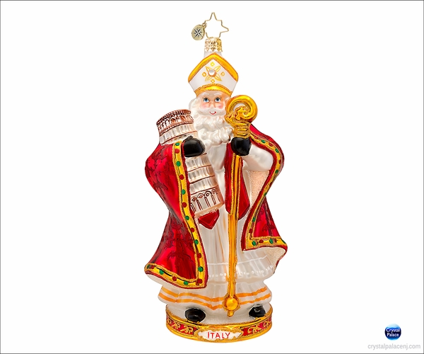(SOLD OUT) Papa Natale Radko Christmas Ornament