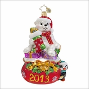 (SOLD OUT)  Paul and Penny  Radko Ornament
