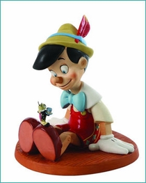 ( Sold Out ) Pinocchio and Jimminy Cricket