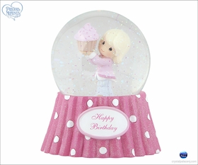 (SOLD OUT) Happy Birthday - Musical Water Globe