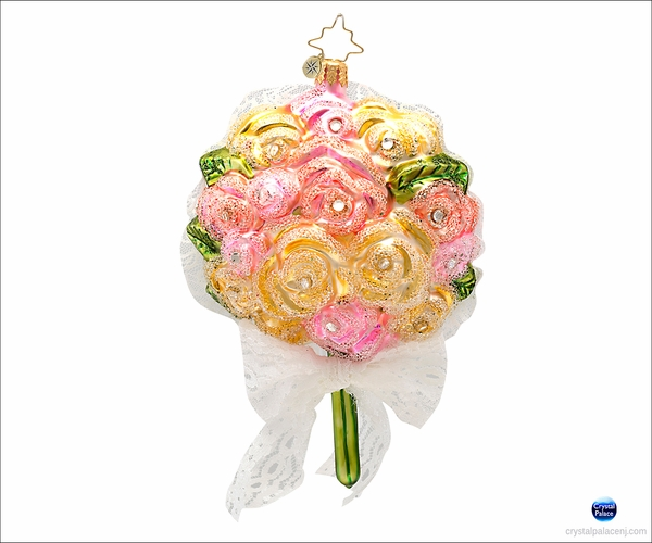 (SOLD OUT) A Toss From the Bride Radko Ornament