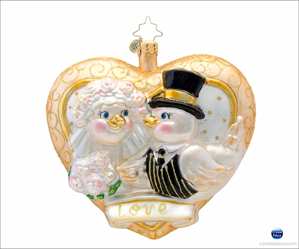 (SOLD OUT) Love is in the Air  Radko Ornament