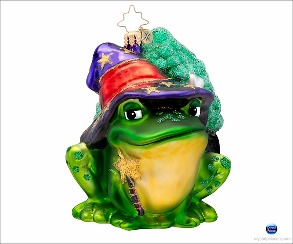 (SOLD OUT) Witch's Helper Radko Christmas Ornament