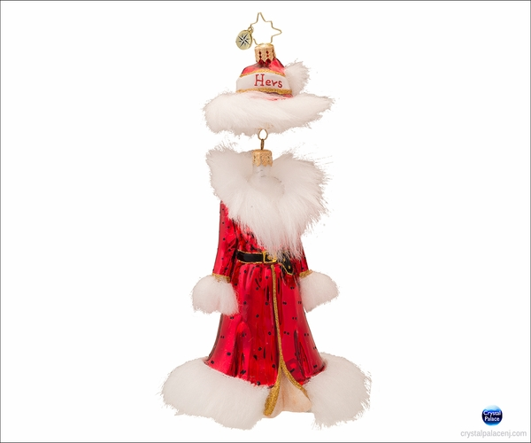 (SOLD OUT) Ready to Wear Hers  Radko Christmas Ornament