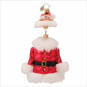 (SOLD OUT) Ready to Wear Him Radko  Christmas Ornament