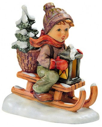 Ride Into Christmas Figurine 5.75 in