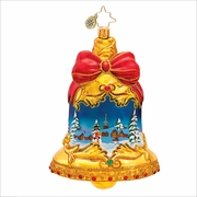 (SOLD OUT)  Ring in the Season Radko  Christmas Ornament