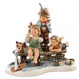 Sailing Lesson Figurine