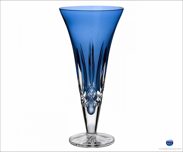 Waterford Lismore Sapphire 9in Vase