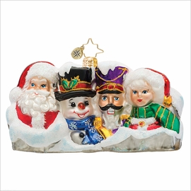 (SOLD OUT) Seasonal Landmark Radko  Christmas Ornament