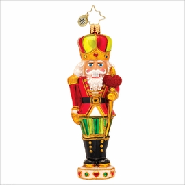 (SOLD OUT) Sir Warm Heart  Radko Christmas Ornament