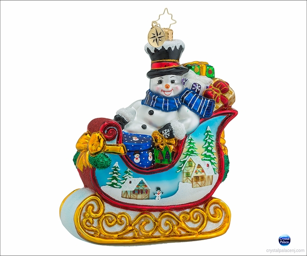 Snowy Gift Sleigh Ride