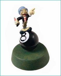 (SOLD OUT)Jimmy Cricket  (with number 8 ball)