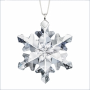 (RETIRED SOLD OUT) Swarovski Little Snowflake Ornament   2012
