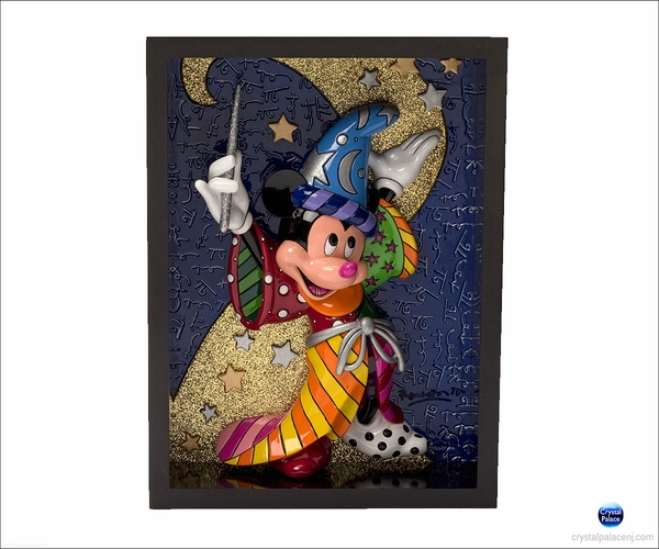 Sorcerer Mickey Pop Art Block By Britto