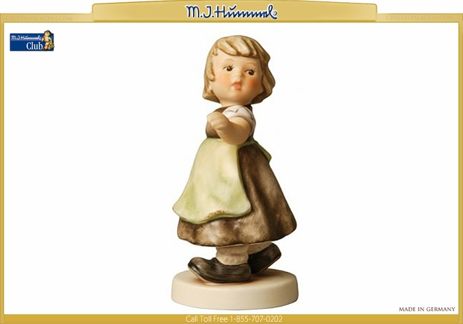 Spring Waltz Figurine M.I. Hummel Club Exclusive