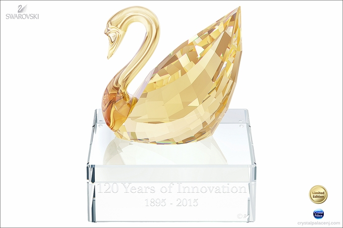 Swarovski 120th Anniversary Swan Event Piece 2015