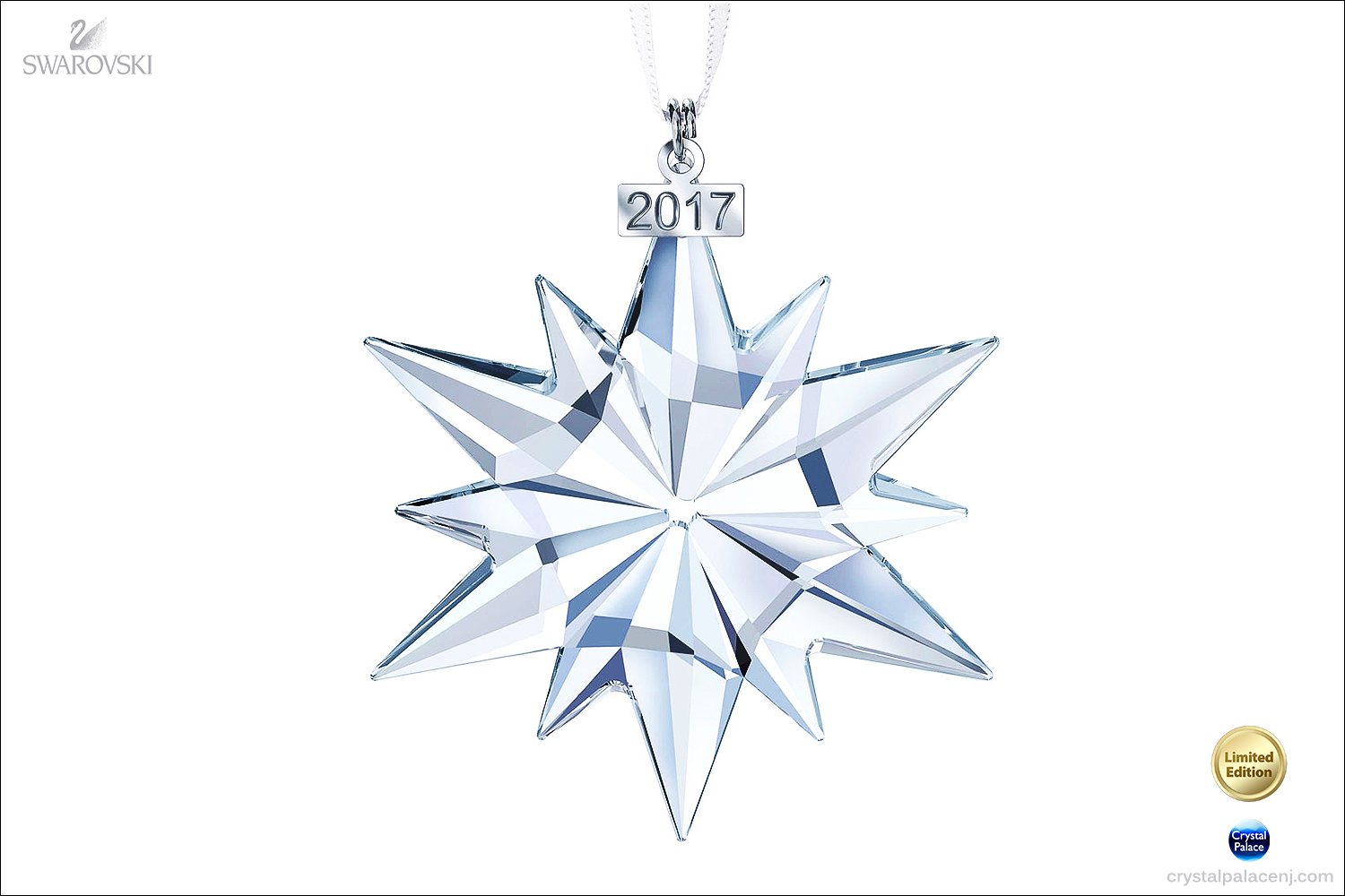 bbf779a2cac09 Swarovski 2017 Christmas Annual Edition Ornament 5257589
