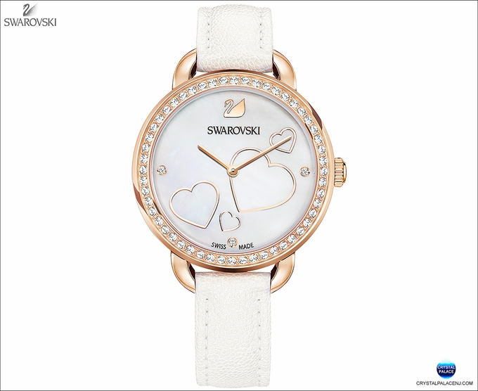 (SOLD OUT)  Aila Day Heart Watch, White