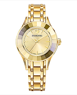 Alegria Watch Gold Tone