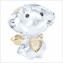 (SOLD OUT) Swarovski Angel with Golden Heart
