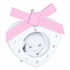 Baby Picture Frame Light  Rose