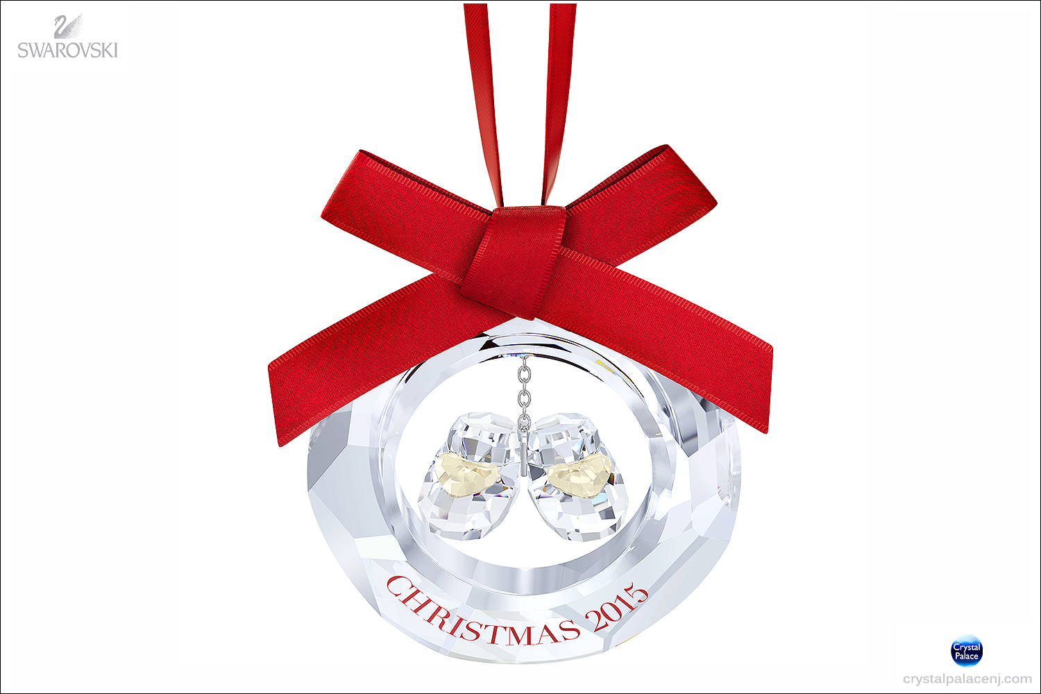 Swarovski Babys First Christmas Ornament Annual Edition 2015