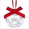(SOLD OUT) Swarovski Baby's First Christmas Ornament, Annual Edition 2015