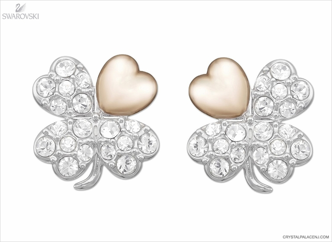 Swarovski Better Clover Pierced Earrings