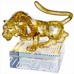 Chinese Zodiac  Tiger, Large - Golden