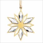 (SOLD OUT) Swarovski Christmas Ornament, Golden Star