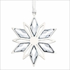 (SOLD OUT) Swarovski Christmas Ornament, Silver Star