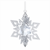 Christmas Ornament Star, Silver Tone