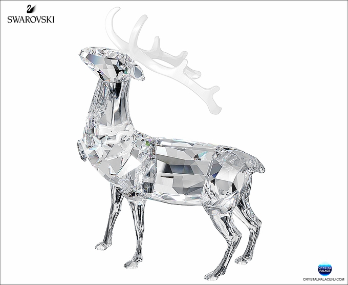(SOLD OUT) Swarovski Christmas Stag
