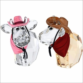 (SOLD OUT) Swarovski Cowboy Cowgirl Mos