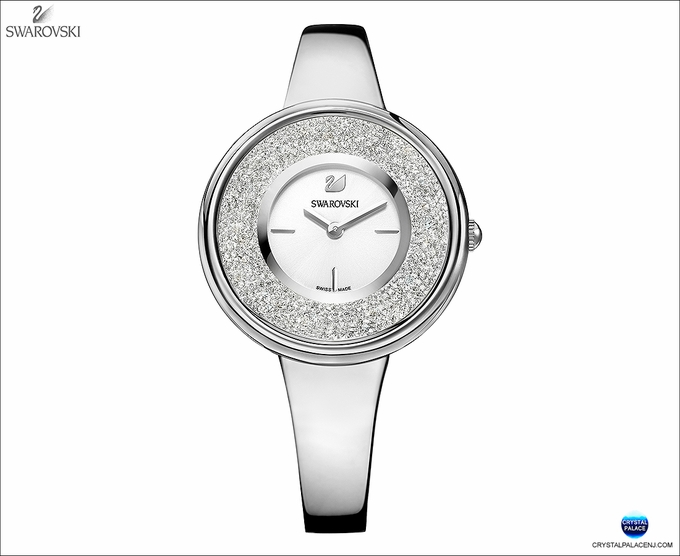 (SOLD OUT) Crystalline Pure Watch, Silver Tone