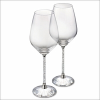 Crystalline White Wine Glasses (Set of 2)
