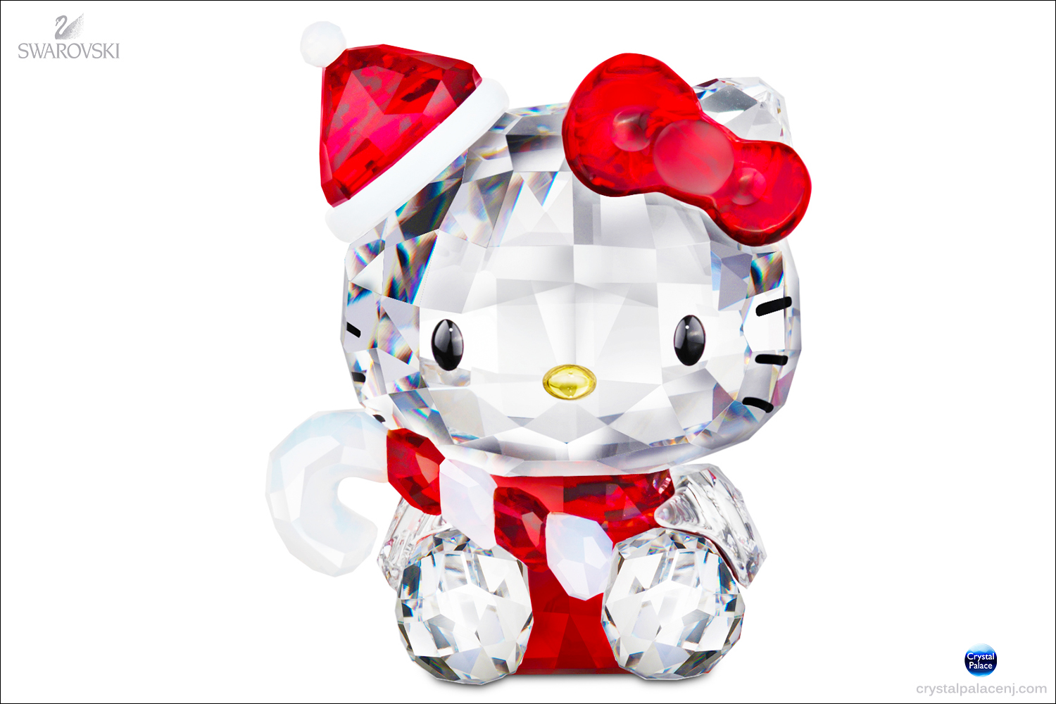 d763bcf05 (RETIRED SOLD OUT) Swarovski Hello Kitty Santa