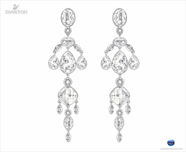 Swarovski Diva Chandelier Earrings