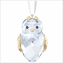 (SOLD OUT)  Swarovski Owl Ornament