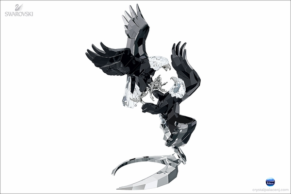 (SOLD OUT)  Swarovski Pair of Bald Eagles Limited Edition